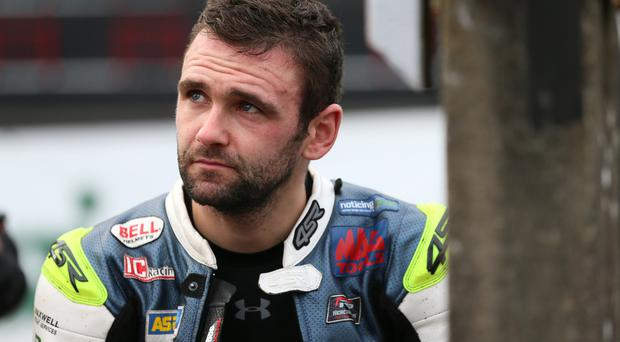 PACEMAKER, BELFAST, 23/8/2017: William Dunlop on the start line for practice at the Classic TT. PICTURE BY STEPHEN DAVISON