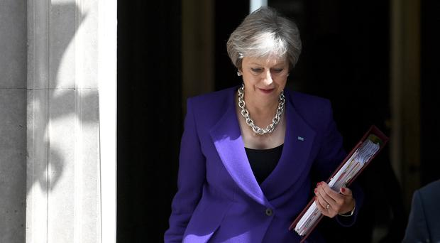 Theresa May faces a Brexiteer backlash over the Chequers plans (Stefan Rousseau/PA)