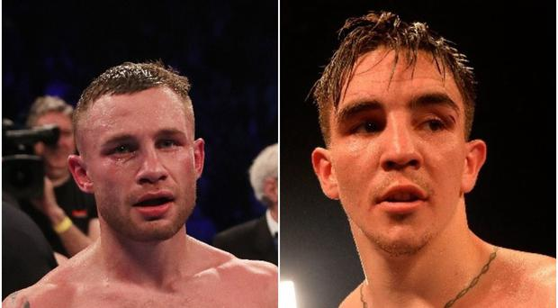 Carl Frampton and Michael Conlan