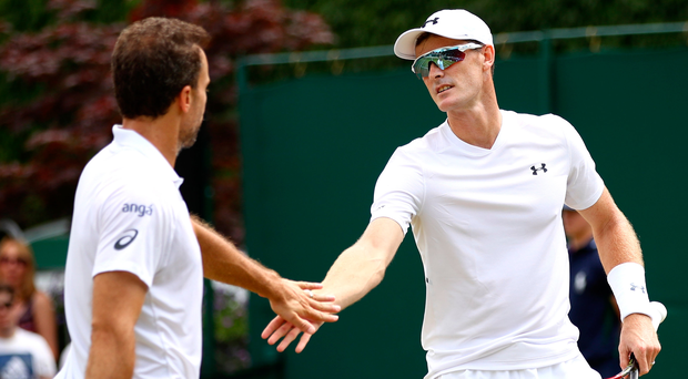 Going through: Bruno Soares and Jamie Murray