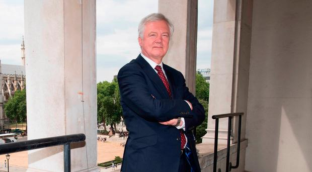 Resigned: Brexit Secretary David Davis