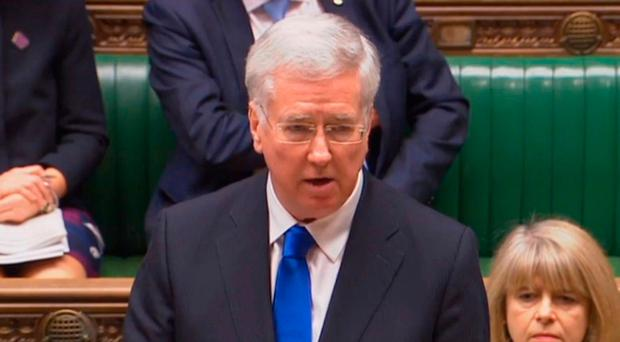 Plea: Michael Fallon