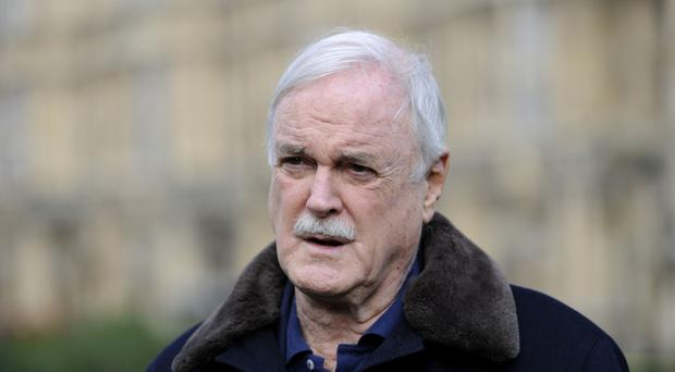 John Cleese is to move to the Caribbean island of Nevis (Andrew Matthews/PA)