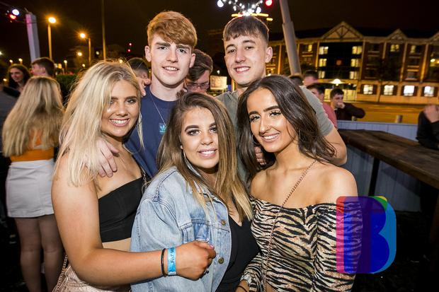 People out at Lux for Fat Tuesday.10th July 2018. Picture by Liam McBurney/RAZORPIX