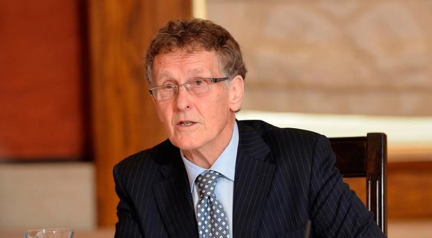 Investigation: Sir Patrick Coghlin, who is heading the RHI inquiry