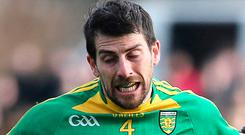 On toes: Paddy McGrath thinks Donegal have a bright future