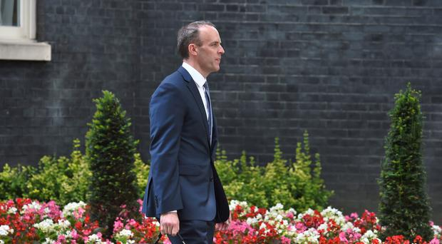 Dominic Raab is the new Brexit Secretary (Kirsty O'Connor/PA)