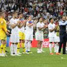 England players expressed their pride and pain on social media after defeat to Croatia (Owen Humphreys/PA)