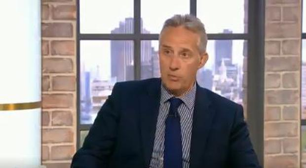 Ian Paisley appearing on The Wright Stuff / Credit: Channel 5