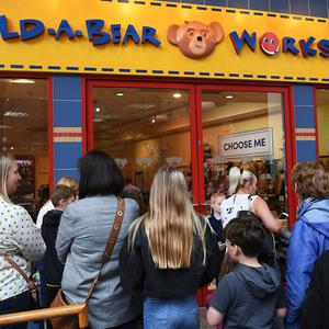 Build-A-Bear in Belfast's Victoria Square Shopping Complex had to close it's doors today. Pic: Justin Kernoghan