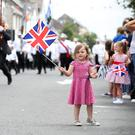 North Down 'Twelfth' celebrations in Newtownards town centre, County Down. Photo by Kelvin Boyes / Press Eye.