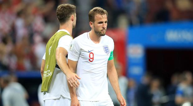 England captain Harry Kane expressed pain and pride at the World Cup showing (Adam Davy/PA Images)