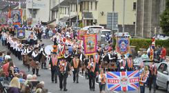 Stewartstown 12th of July Co Tyrone. Picture Mark Marlow