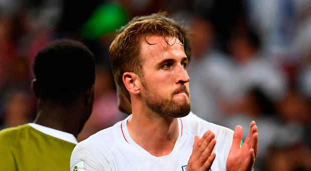Applause all round: Harry Kane insists England can look back on their Russian adventure with great pride