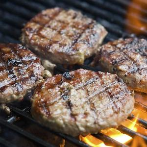 Low-Carb Beef Burgers