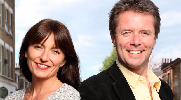 Presenter Nicky Campbell (with Davina McCall) knows what it is like to be reunited with lost family members