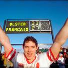 Know the score: Simon Mason celebrates Ulster's impressive Euro semi-final win