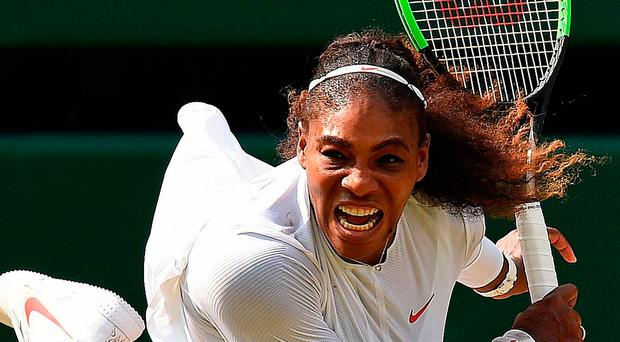 Return: Serena Williams plays Angelique Kerber as she bids for her eighth Wimbledon singles title