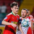 Not moving: Conor McDonald looks set to stay at Cliftonville