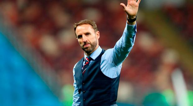 In zone: Gareth Southgate has been impressed with England's reaction after their semi-final disappointment