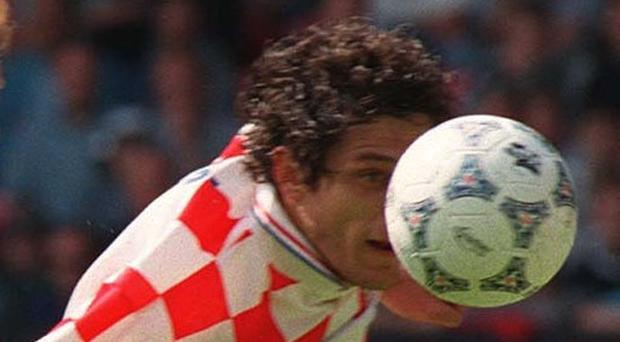 Slaven Bilic was among Croatia's key players in 1998 and was involved in the incident which saw Laurent Blanc sent off (John Giles/PA)