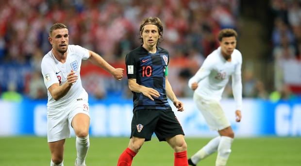 Croatia's Luka Modric , who learnt to play on war-torn streets, will grace Sunday's World Cup final against France (Adam Davy/PA Images)