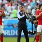 Gareth Southgate could not fault any of his England players (Aaron Chown/PA)