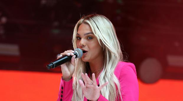 X Factor winner Louisa Johnson has left Simon Cowell's record label (Isabel Infantes/PA)