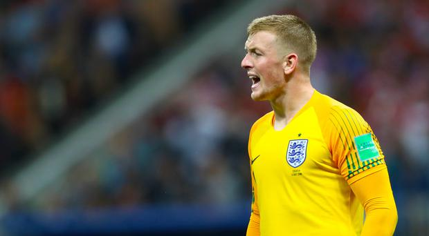 Jordan Pickford has shone for England at the World Cup (Tim Goode/PA)