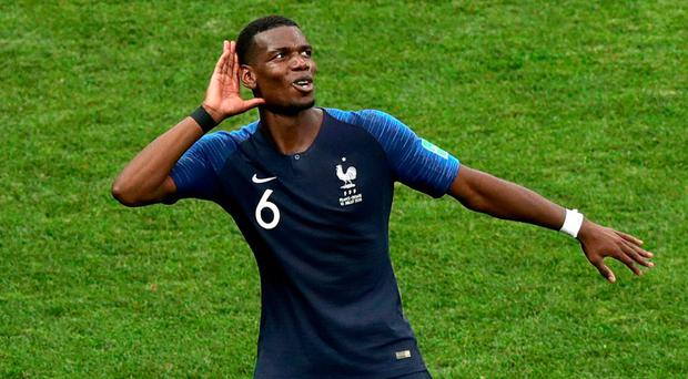 Watch: Paul Pogba Sends Message To Critics Following