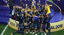 France ended a 20-year wait to win the World Cup again (Aaron Chown/PA)