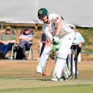 Big hitter: Daniel Graham hit his career best score for North Down in their Premier League win against Instonians on Saturday