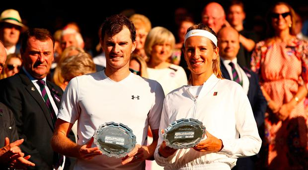 Jamie Murray and Victoria Azarenka defeated in Wimbledon mixed doubles final