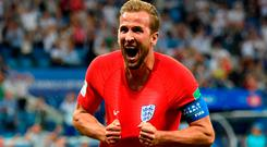 Hitman: Harry Kane scored six goals at the World Cup