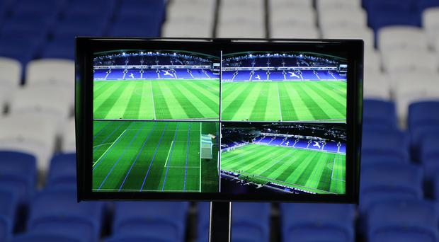 The Video Assistant Referee system found itself under the spotlight at the 2018 World Cup (Gareth Fuller/PA)