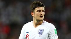 Harry Maguire was one of England's stars of the World Cup (Tim Goode/PA)
