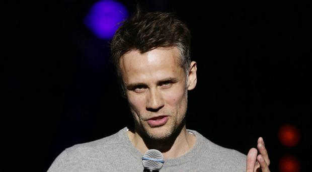Richard Bacon is recovering in hospital (Yui Mok/PA)