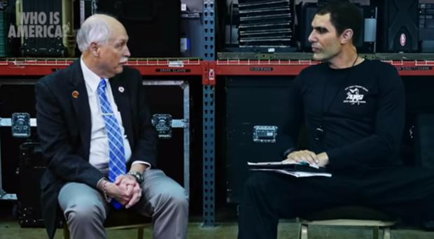 Republicans back arming toddlers in Sacha Baron Cohen's hoax