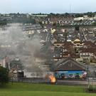 Violence raged in Derry for six nights.