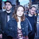 Pictured: Chvrches