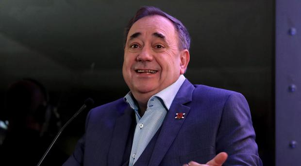 Alex Salmond's chat show on RT has been found in breach of the broadcasting regulator's rules (Chris Radburn/PA)