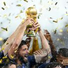 Celebrations are continuing in Paris after France won a second World Cup on Sunday (Owen Humphreys/PA Images)