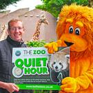 Zoo manager Alyn Cairns and Brian the lion can't wait to welcome everyone to the 'Quiet Hour' at Belfast Zoo