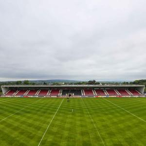 Ground force: Tyrone's Healy Park is set to host a Dublin invasion on Saturday