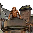An artist impression of the new George Best statue at the hotel.