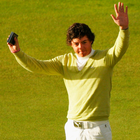 New boy: Rory McIlroy with the Silver Medal he won in 2007