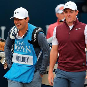 Rory McIlroy is aiming to win his first major since 2014.
