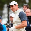 Major ambitions: Rory McIlroy is aiming to end a four-year drought at Carnoustie