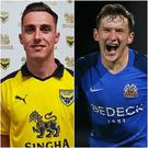 Gavin Whyte and Bobby Burns earned moves into full-time foootball from the Irish League this summer.