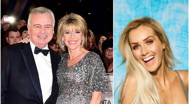 Love Island's Laura admitted she had a crush on Belfast presenter Eamonn Holmes.